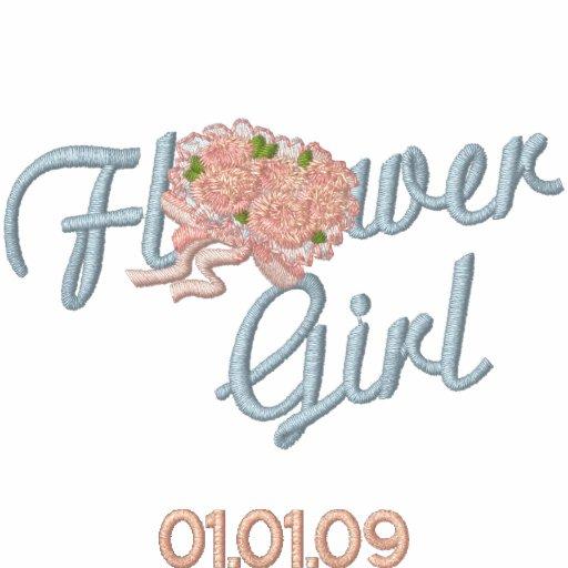 Flower Girl Floral - Blue