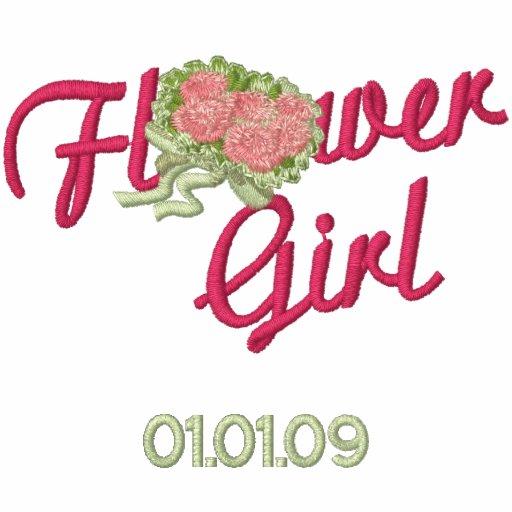 Flower Girl Floral - Pink