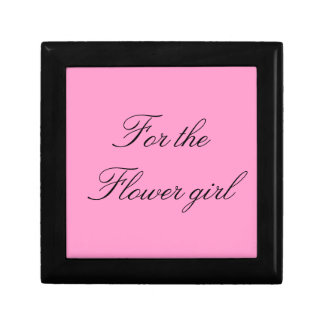"""Flower Girl"" Gift Box"