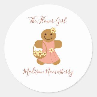 Flower Girl Gingerbread | Sticker