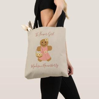 Flower Girl Gingerbread   Tote Bag