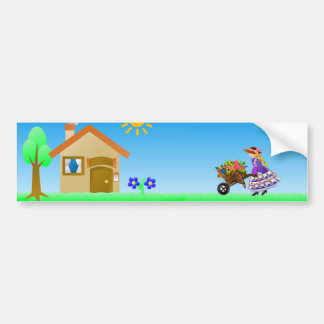 Flower Girl Going Home Bumper Sticker