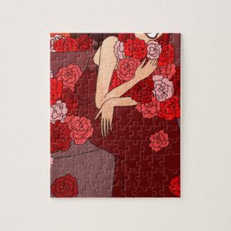 Flower Girl Jigsaw Puzzle