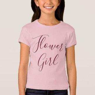 Flower Girl Pink T-Shirt