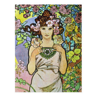 Flower Girl Postcard