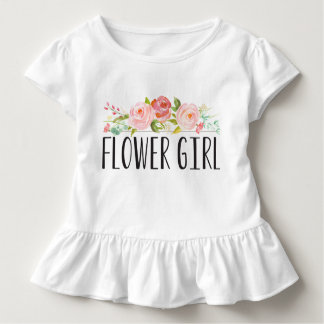Flower Girl Toddler Tee | Bridesmaid