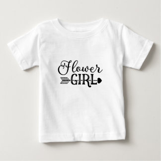 Flower Girl, Tribe Arrow, Wedding Party Baby T-Shirt