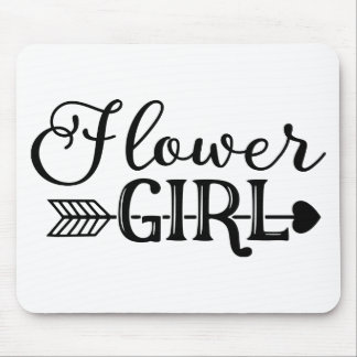 Flower Girl, Tribe Arrow, Wedding Party Mouse Pad