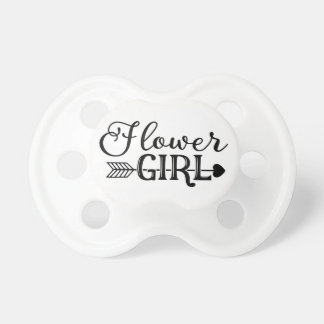 Flower Girl, Tribe Arrow, Wedding Party Pacifier