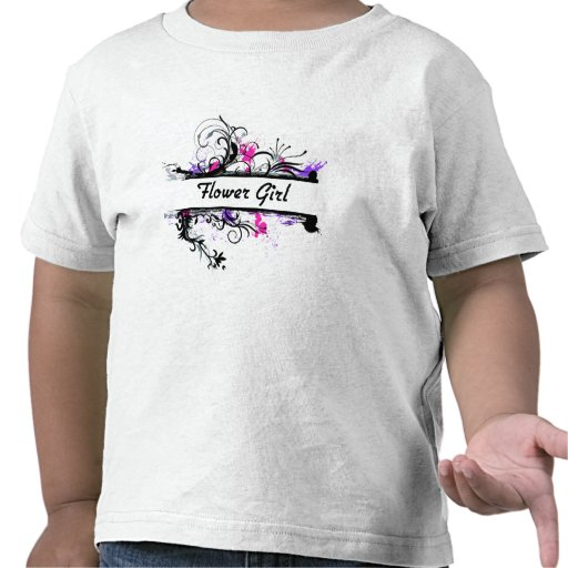 Flower Girl T Shirts