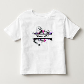 Flower Girl Tee Shirts