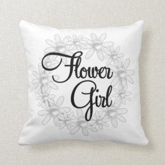 Flower GIRL .Wedding Shower Gift MoJo Pillows