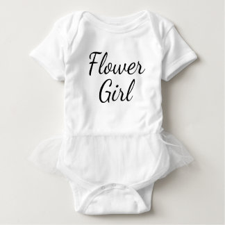 """Flower Girl"" White with Tutu Ruffle Casual Dress"