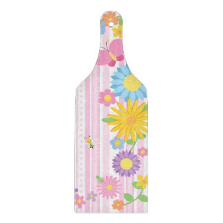 Flower Glass Paddle Cutting Board