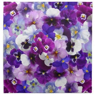 Flower Graphic Napkin