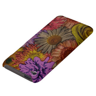 flower greetings vintage look iPod touch cases