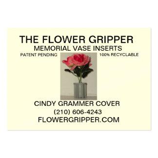 Flower Gripper Resized Back Business Cards