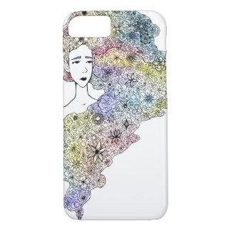 """Flower Hair"" Phone Case"