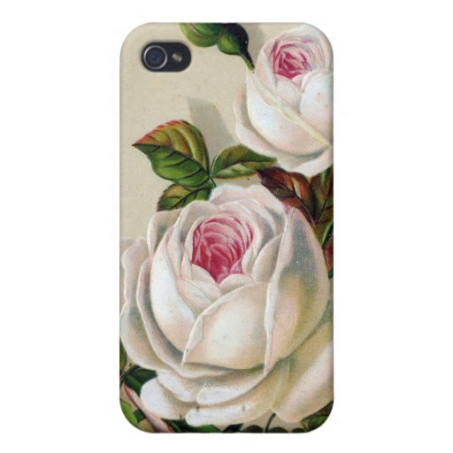 Flower Hard Shell Case for iPhone 4