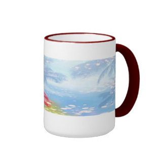 flower haze ringer mug
