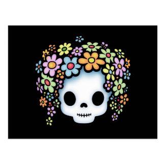 Flower Head Jr. Postcard
