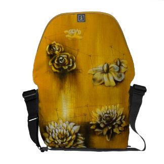 Flower Heads Messenger Bag