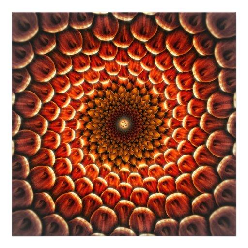 Flower Healing Mandala OM Photo Art