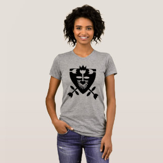 FLOWER HERALDRY women's t-shirt