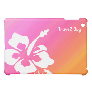Flower Hibiscus Tropical iPad pink orange iPad Mini Covers