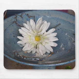 Flower in a Bird Bath Mouse Pad