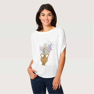 Flower in a Vase by Twixylicious Art T-Shirt