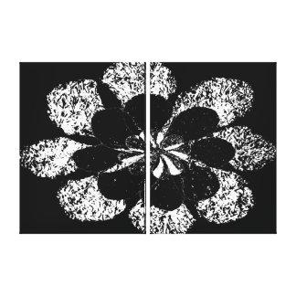 flower in flower canvas print