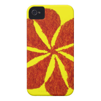 flower in red Case-Mate iPhone 4 case