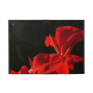 Flower in Red Cases For iPad Mini