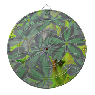 flower in spring dartboard