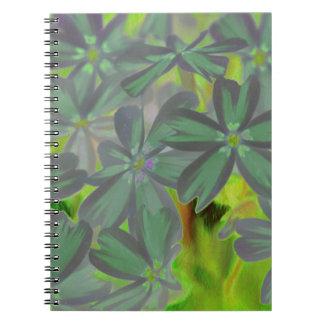 flower in spring notebook