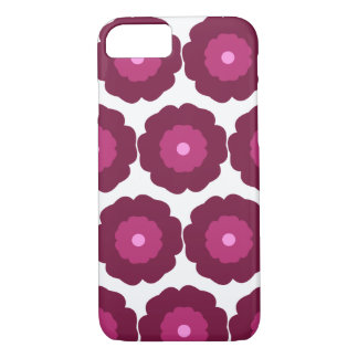 Flower iPhone case - pink