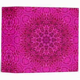 Flower Kaleidoscope    EZD&trade Ring Binders
