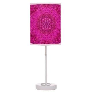 Flower Kaleidoscope     Table Lamps