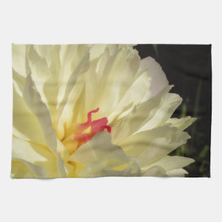 flower kitchen towel