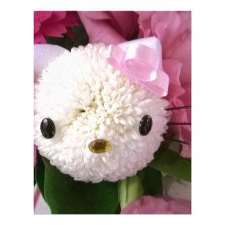 Flower Kitty Letterhead