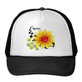 Flower Lips Trucker Hat