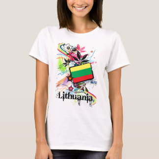 Flower Lithuania T-Shirt