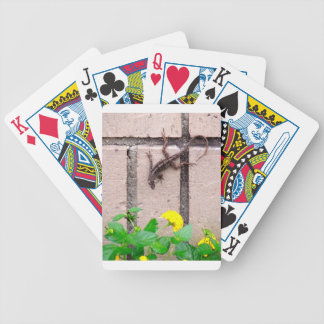 FLOWER LIZARD BICYCLE PLAYING CARDS