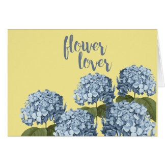 Flower Lover Floral Card