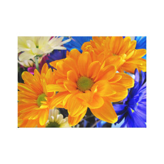 Flower lovers bouquet 11 x 14  canvas poster