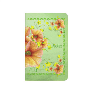 Flower Lovers Delight Custom Journal