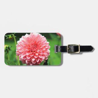 flower luggage tag