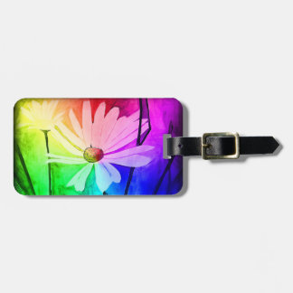 Flower Luggage Tag (Change Color in Customize!)