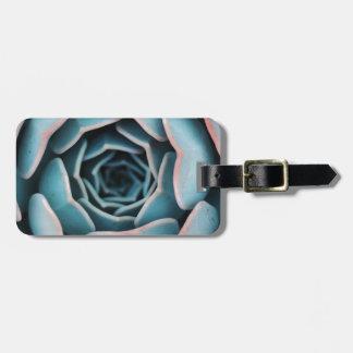 Flower Macro Close-Up Amazing Unisex Floral Print Luggage Tag